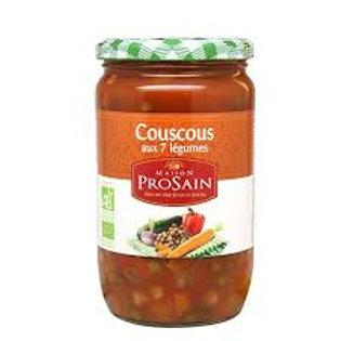 Maison Prosain - couscous aux 7 légumes
