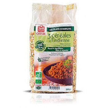 boulgour 3 céréales indienne 300 gr