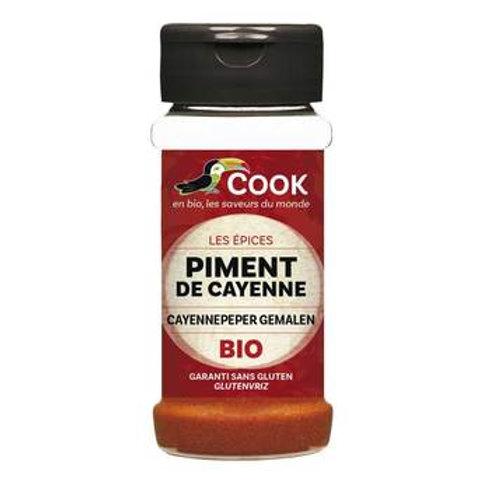 Piment de Cayenne bio COOK 40gr
