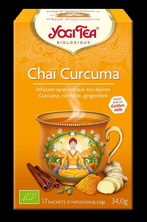 Thé curcuma chai
