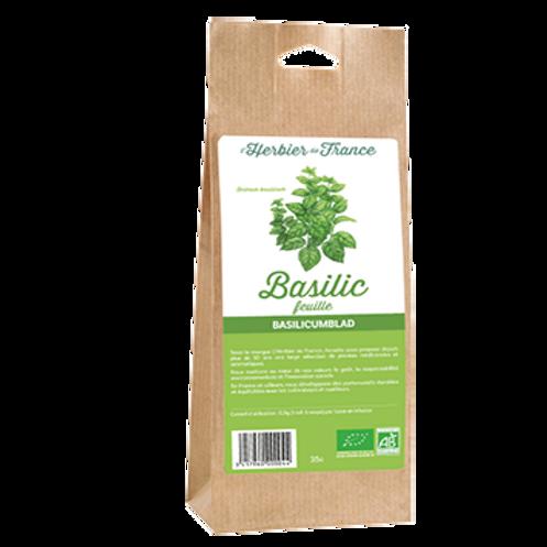 Thé basilic (feuilles) - 35g - L'Herbier de France