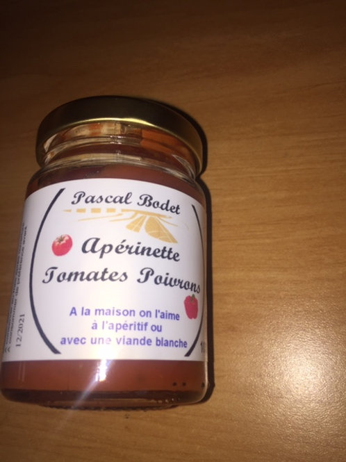 Apérinette tomates poivrons
