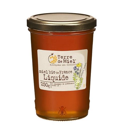 Miel bio de France liquide