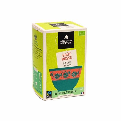 Goût Russe - Thé vert agrumes