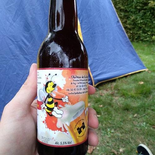 Bière ambée - Miel de châtaignier - 33cl