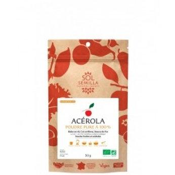 Acerola en poudre Bio - 50 g