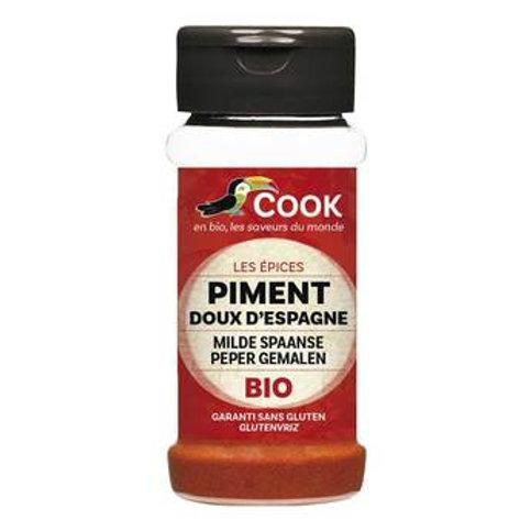 Piment doux d'Espagne bio COOK 40gr
