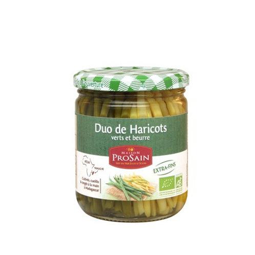 Duo de haricots verts et beurre