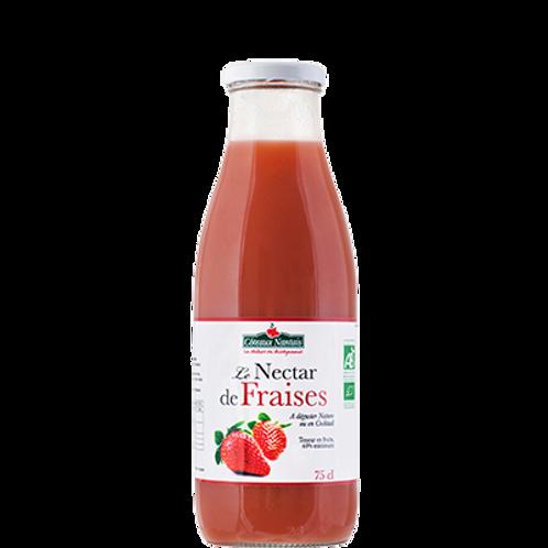 Jus nectar de fraises