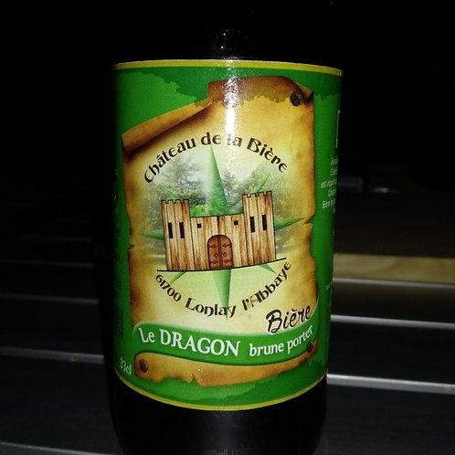 Bière brune - le dragon - 33cl