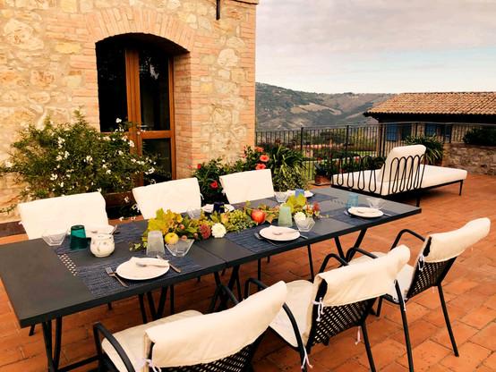 Casa Monteverde - Private Terrace