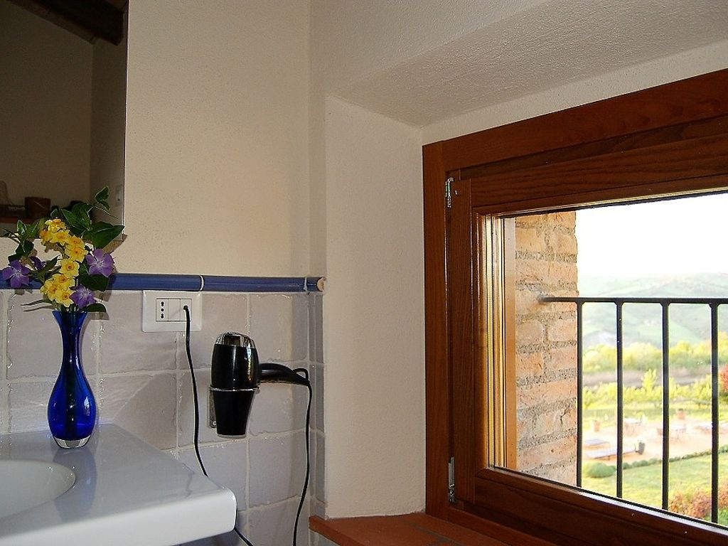 Casa Monteverde - Bathroom with a View