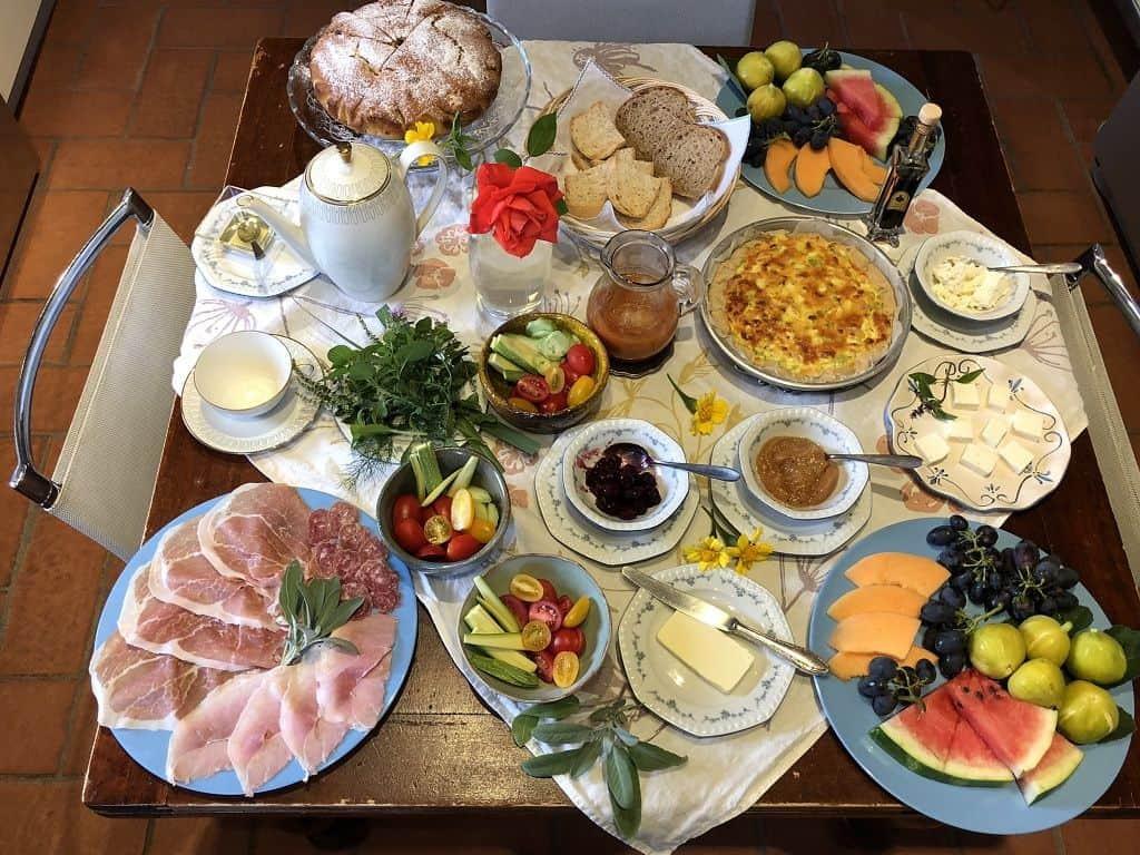 Agriturismo Podere Prasiano - Breakfast