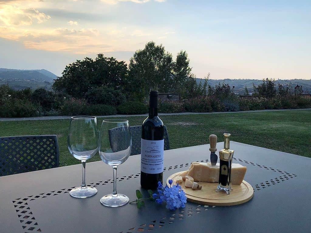Organic Wine from Podere Prasiano