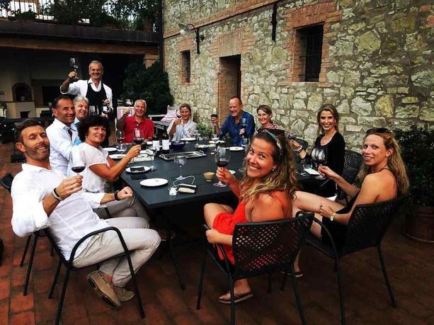 Agriturismo Podere Prasiano - Wine Tasting