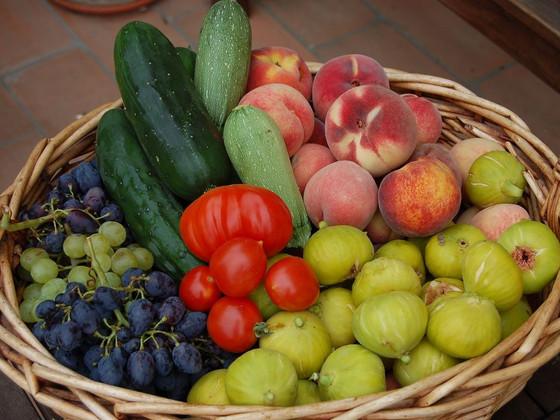 Homegrown Organic Food