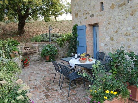 La Casetta - Private Terrace near the Pool
