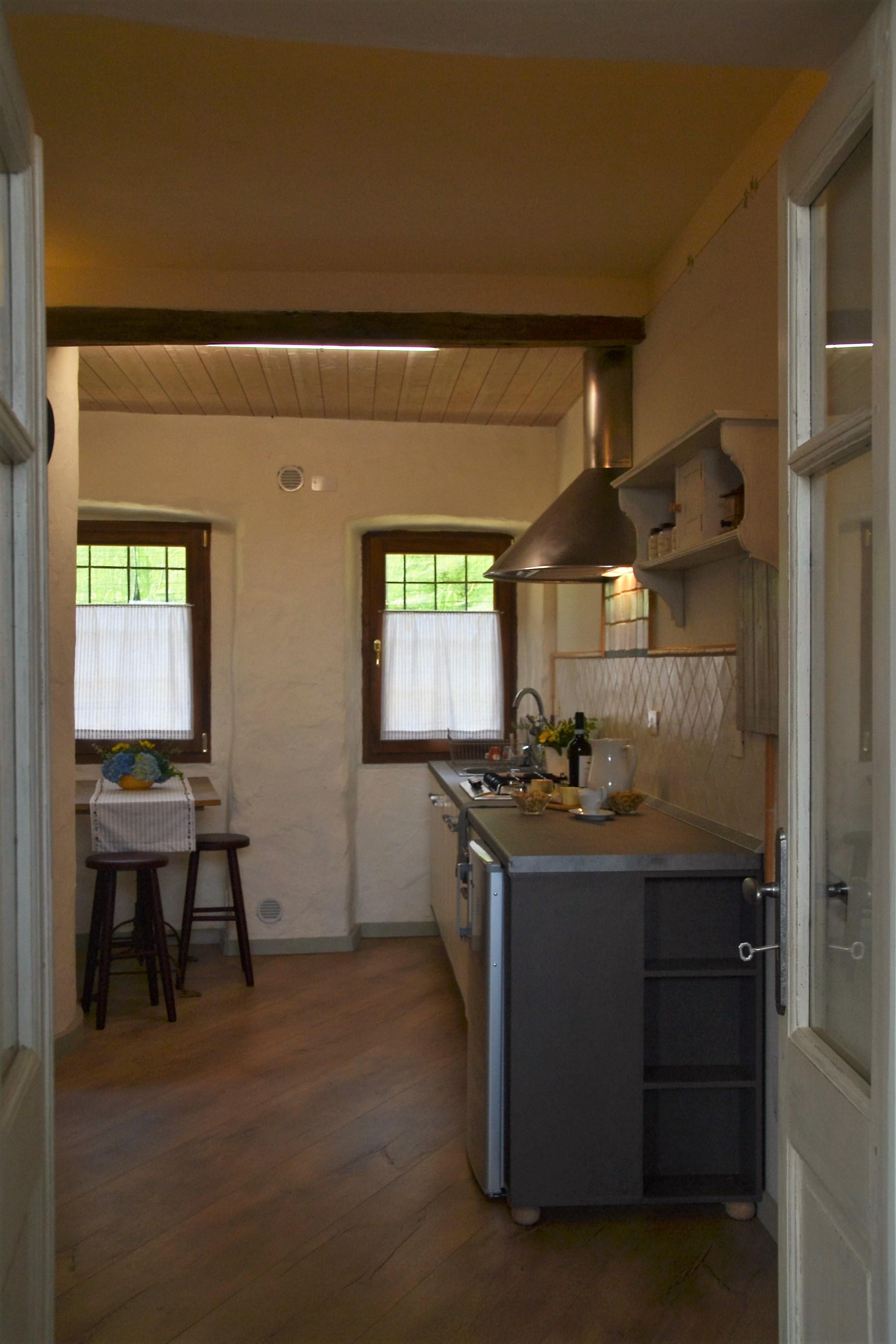 cucina appartamento del sole