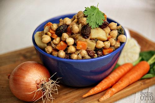 Vegan Potato Chickpea Indian Stew