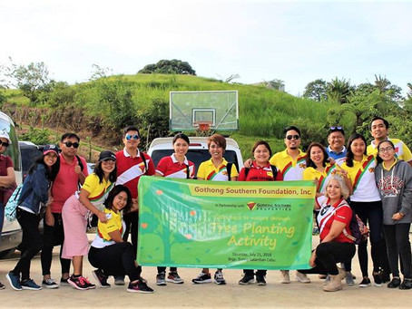 GS Gives Back to Nature