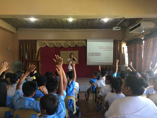 First 3KB Session with Badjao Students