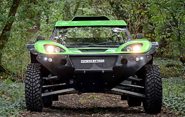 Revolution 4x4 Off Road Vehicle In Green