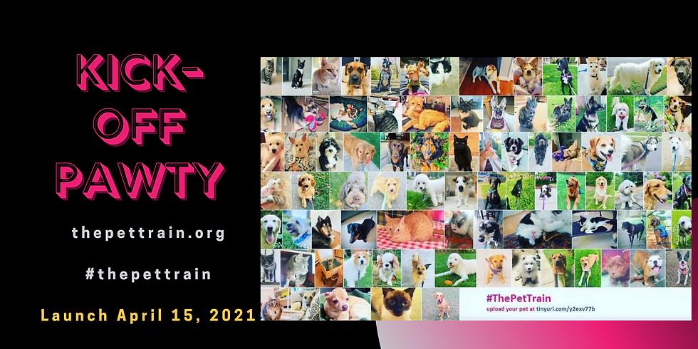 Kick-off Pawty The Pet Train