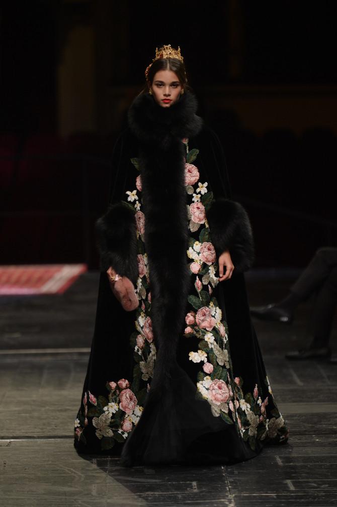 Dolce & Gabbana Alta Moda S/S16 Couture