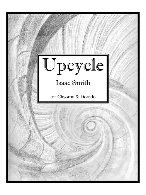 Upcycle, for Bb Clarinet and Alto Saxophone