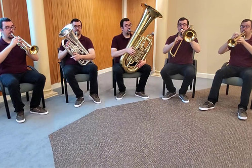 How Can I Keep From Singing, for Brass Quintet