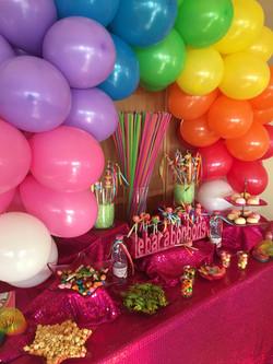 Candy bar arc en ciel