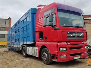 Ремонт грузовой рамы прицепа скотовоза