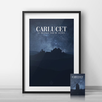Affiche • Tourisme • Lot • Carlucet