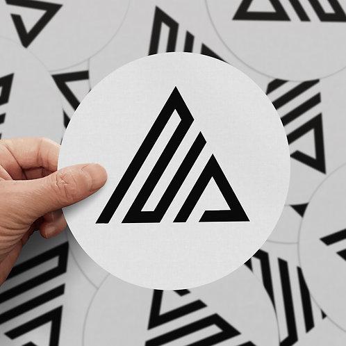 Mockup • Noir Pixel • Holding Stickers