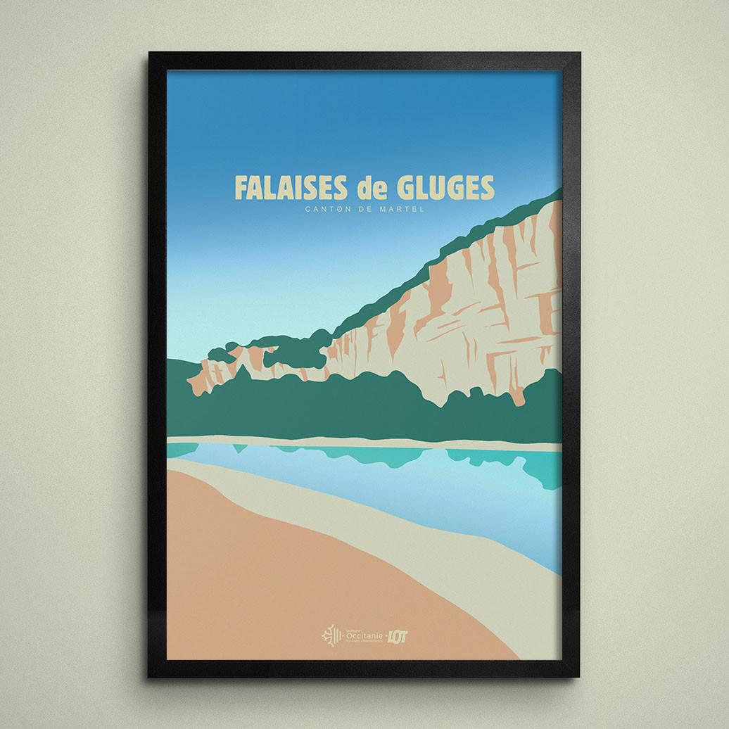 Les affiches tourisques du Lot • Gluges
