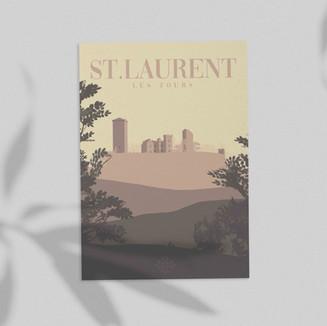 Carte Postale • Tourisme • Lot • Saint-L
