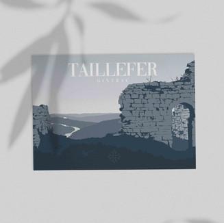Carte Postale • Tourisme • Lot • Taillef