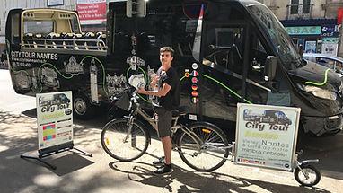 citytour Nantes bus panoramique autocar