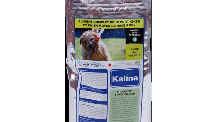 Aliment complet pour petit et moyen chien 3kg