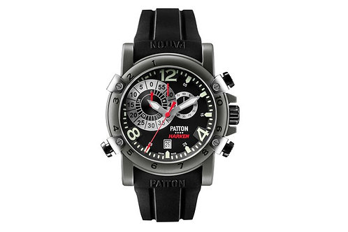 Harken black dial - black rubber band