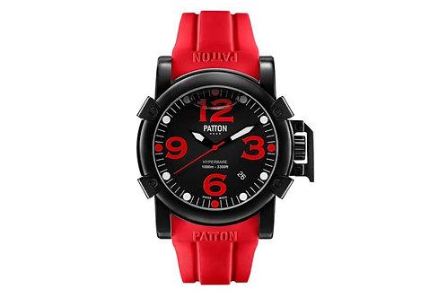 HYPERBARE Navy red rubber