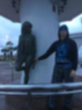 isiting Selena Statue, Corpus Christi.jp