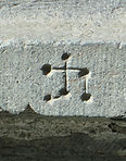 Mason's mark from Nidaros Cathedral, Trondheim, Norway, early 14th century.