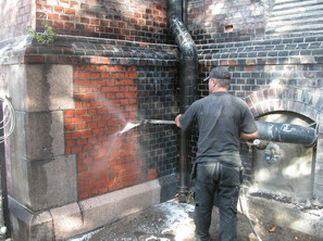 Masonry-Cleaning
