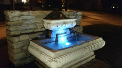 Kansas City Water features and fount