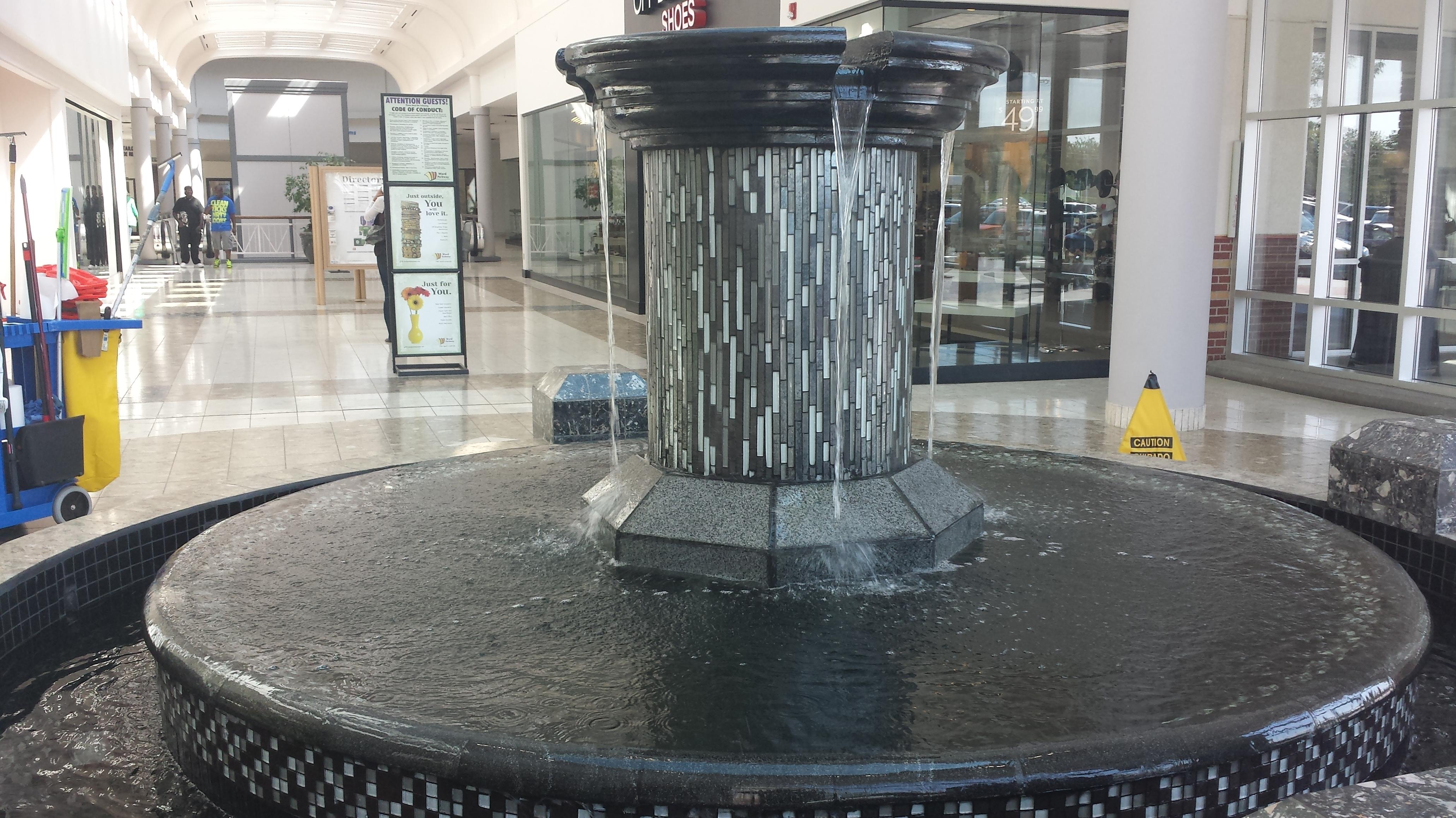 modern garden fountains olathe