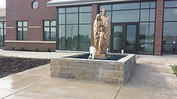 Water Feature, Masonry Restoration Kansas City, Brick Masonry repair service kansas city