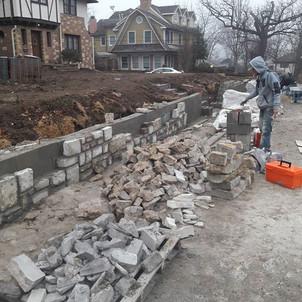 Kansas city, brick re-coloring, brick dyeing, tuckpointing, all of your masonry repair needs