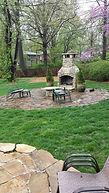 landscape stone patio lawrence kansas,outdoor patio lighting landscape lawrence kansas