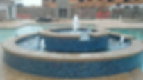 Landscape company Kansas City . Country Club Plaza fountain/ water feature design firm. Landscape water features by Kansas City Masonry /Architect